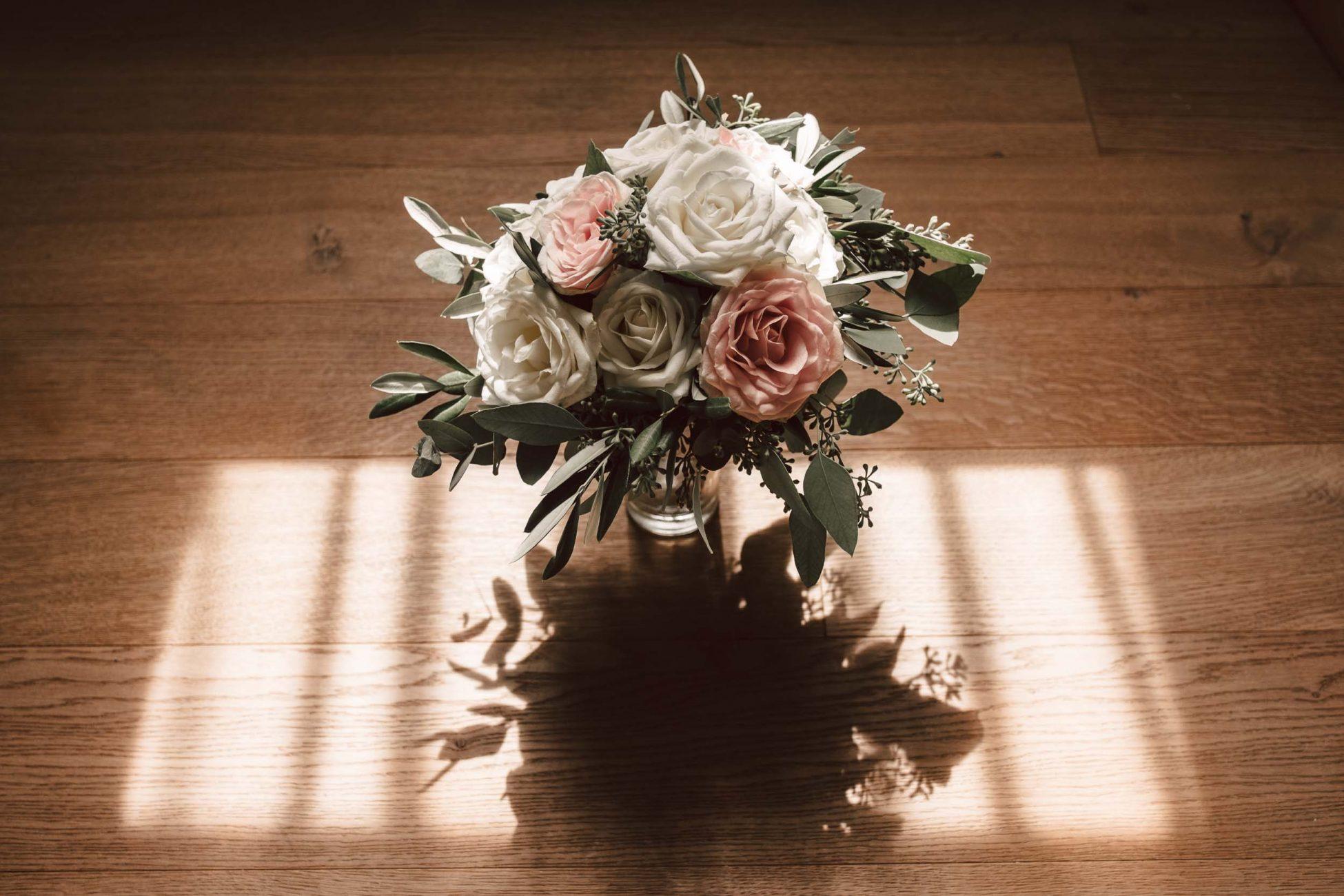 Blumenstrauß Detailaufnahme - Hochzeit in der Steiermark